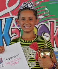 Annika Maurer - KaraokeFest 2012 - Creme de la Kids - 3rd Place