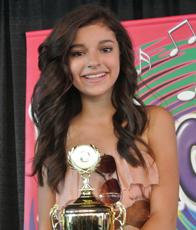 Bryana Salaz - KaraokeFest 2012 - Creme de la Kids - 2nd Place