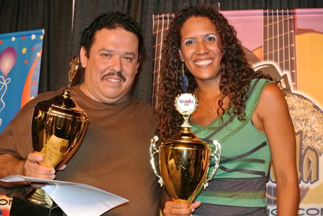 fabian garcia kelin covington karaokefest 2012 creme de la creme winners