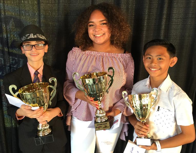 Creme de la Kids 2017 Winners Paul Welsh Joann Gilliam Leonard Juat